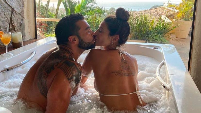 Ivana Nadal y el anillo que despertó rumores de una boda secreta con Bruno Siri