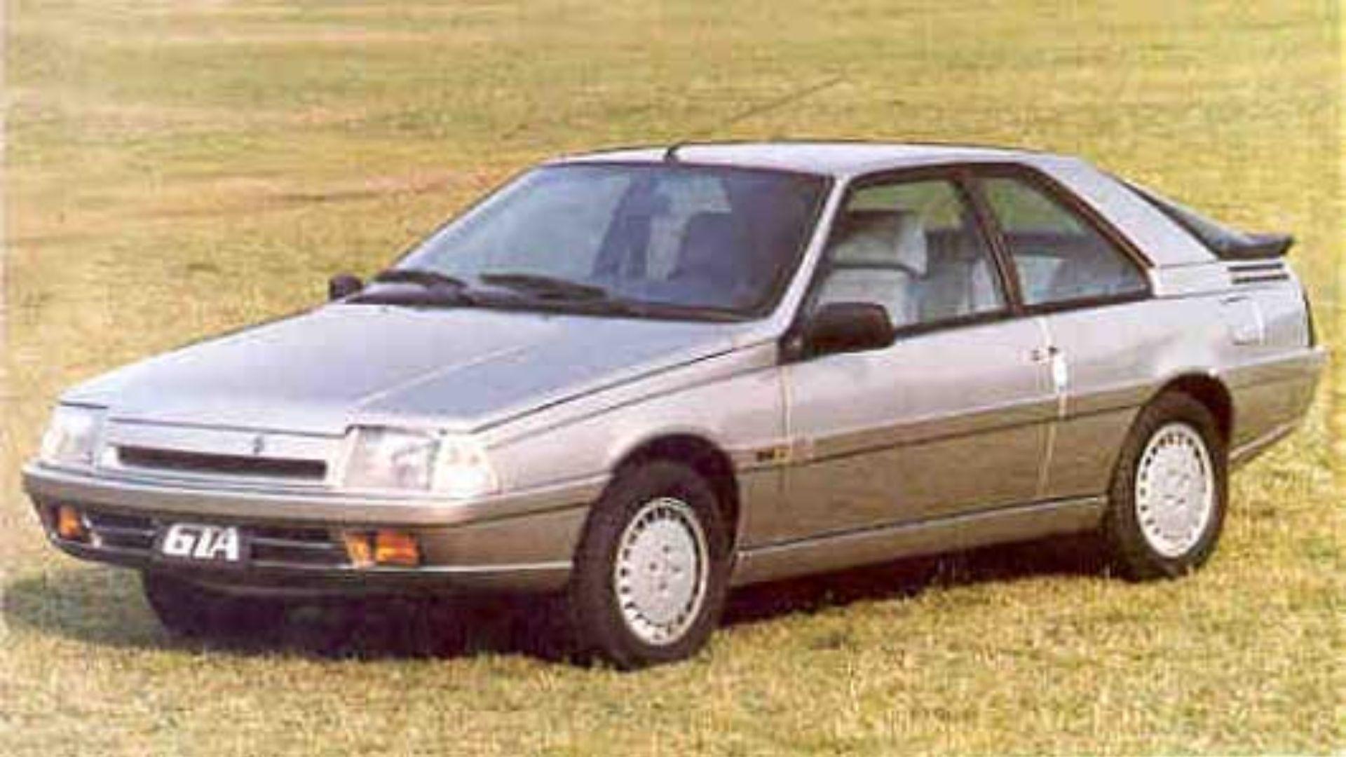 Así teníamos nuestro primer contacto con la Renault Fuego GTA