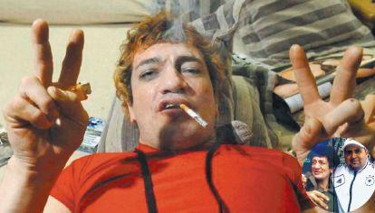 Deprimido. El famoso cantante atraviesa un cuadro psiquiátrico depresivo desde que ingresó a la cárcel de Ezeiza. En noviembre del año pasado estuvo internado por un pico de diabetes.  Junto con Cristian Díaz, a quien asesinó de cuatro balazos.
