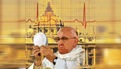 """Nelson Castro revela la historia de las dolencias que a lo largo de los siglos afectaron, no siempre """"naturalmente"""", a los pontífices. Las """"fake news"""" sobre el pulmón que casi deja fuera del papado a Francisco."""