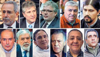 Llegó a haber más de 70 dirigentes con preventiva. La mayoría fueron liberados o lograron el beneficio de seguir en otros lugares.