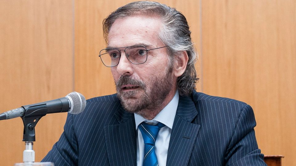 Gustavo Hornos es el presidente de la Cámara de Casación