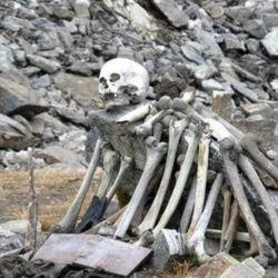 Hasta el momento se han encontrado los restos óseos de entre 600 a 800 individuos.