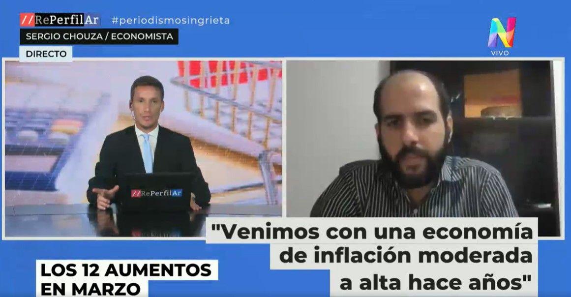 Entrevista a Sergio Chouza - Aumentos e Inflación
