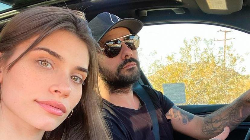 Eva de Dominici y Eduardo Cruz