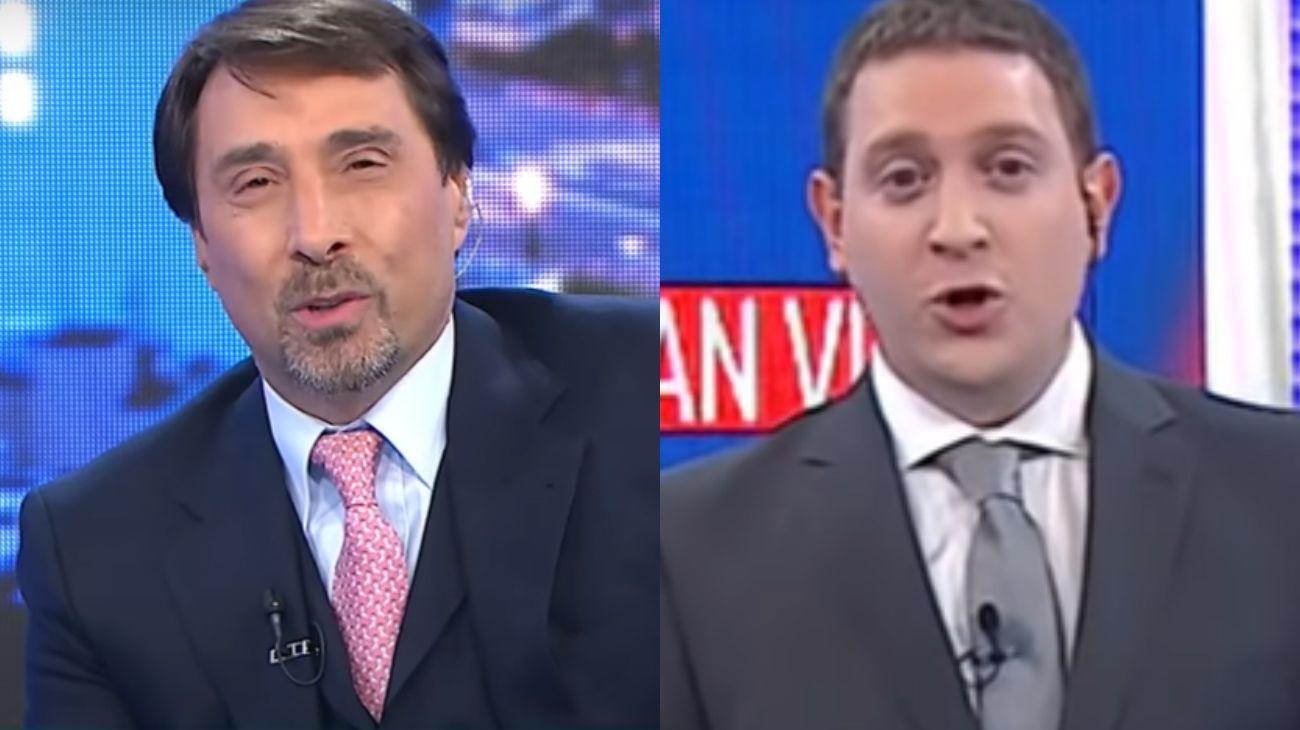 Los Vila y América TV vs. Eduardo Feinmann y Jonatan Viale