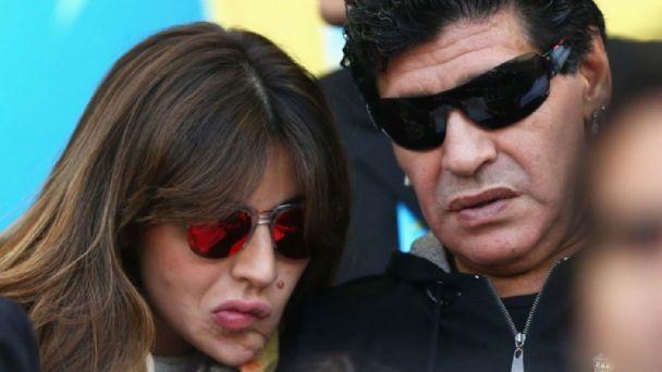 Gianinna pidió vivir con Diego Maradona