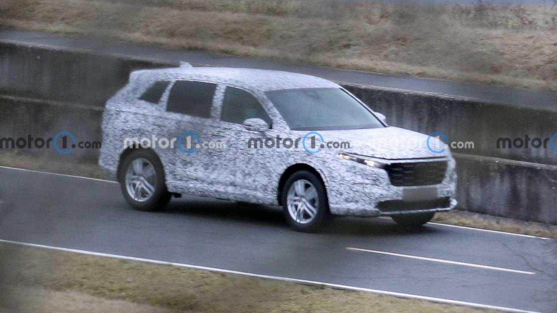 Aparece la nueva generación del Honda CR-V