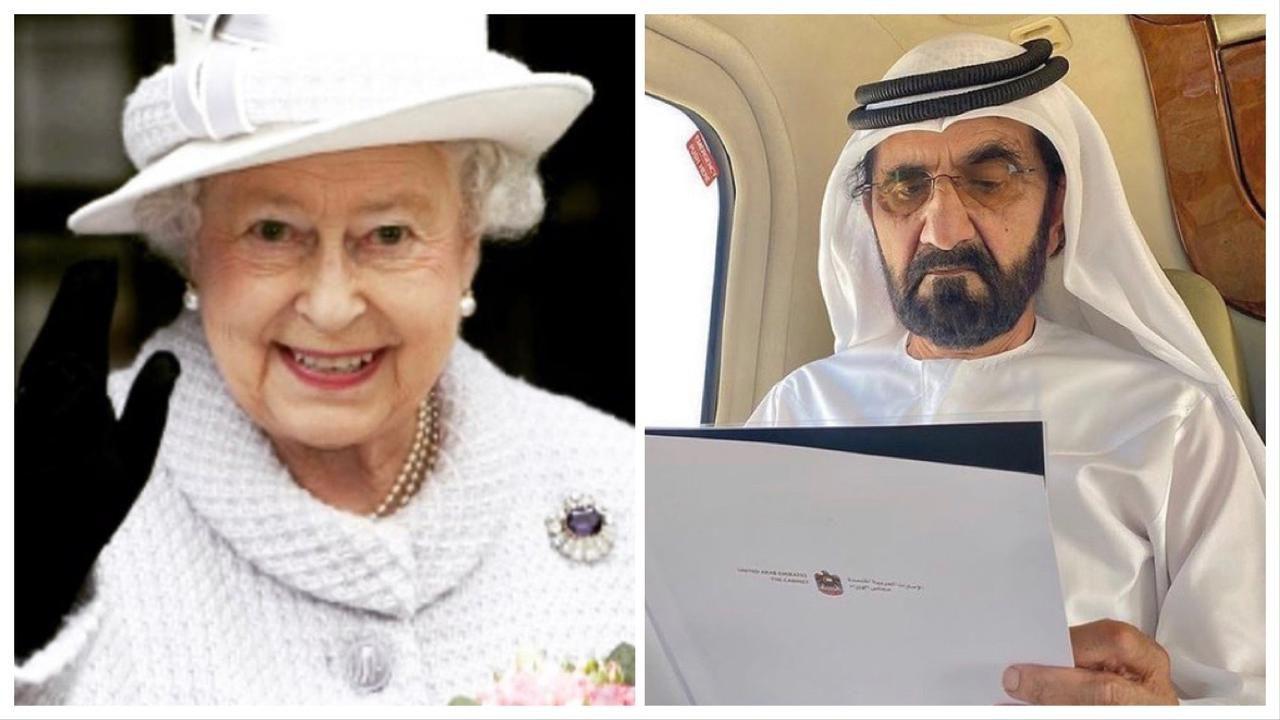 Isabel II- Mohammed bin Rashid Al Maktoum