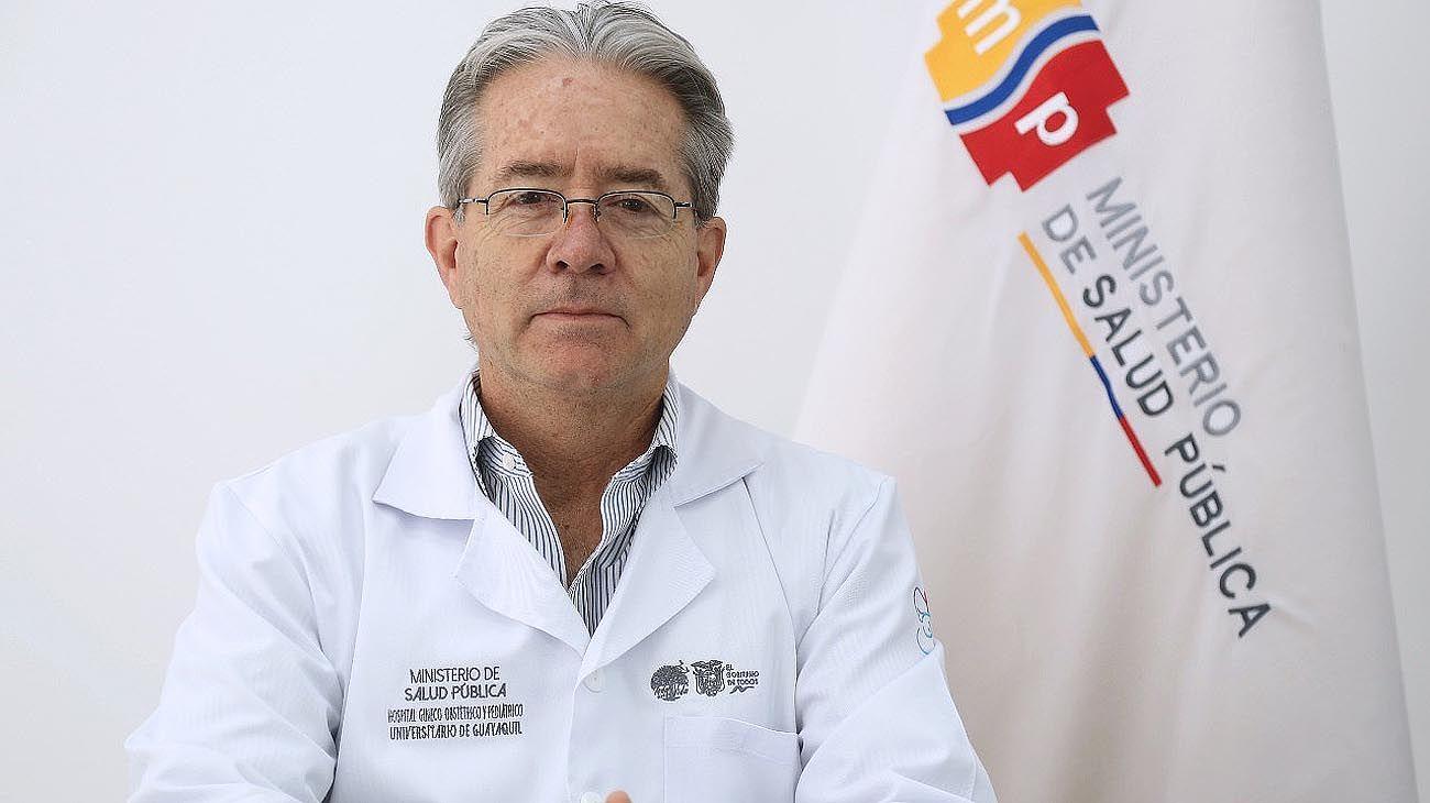 El ministro de salud de Ecuador renunció al cargo la semana pasada.