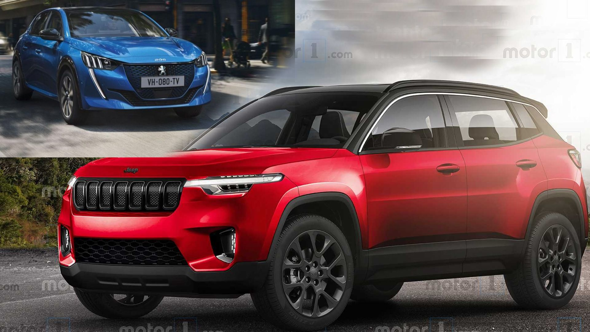Jeep producirá un mini Renegade con base de Peugeot 208