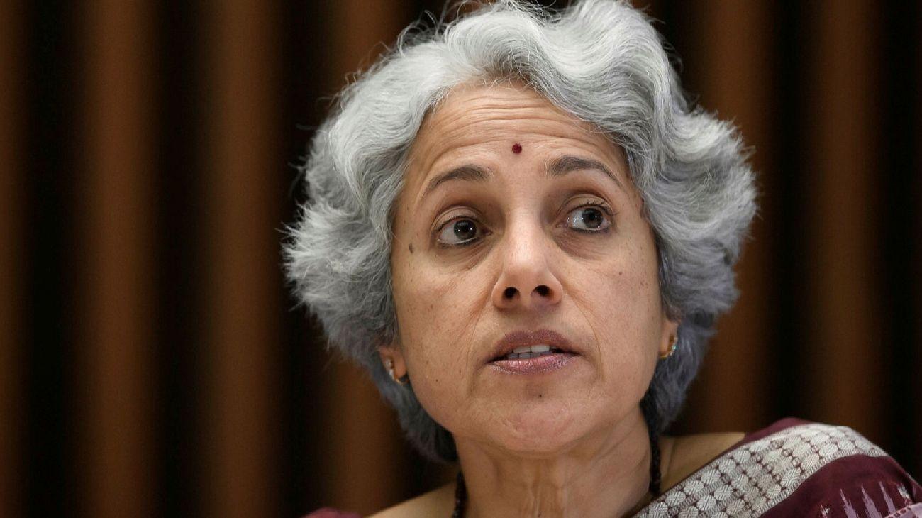 La jefa de científicos de la Organización Mundial de la Salud (OMS), Soumya Swaminathan