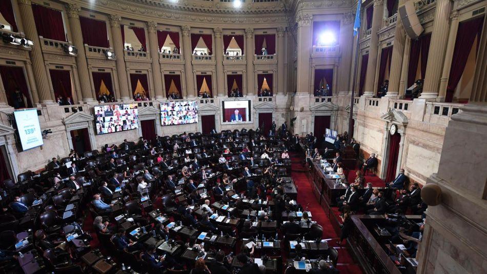 Asamblea Legislativa en el Congreso de la Nación 20210301