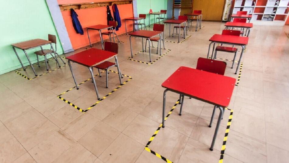 Regreso de clases presenciales en Chile