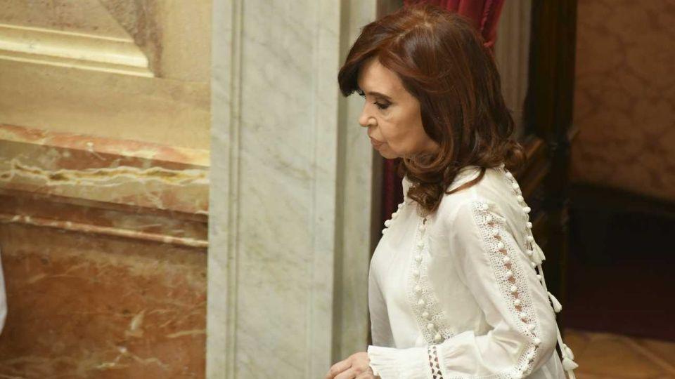 Cristina Fernández de Kirchner en el Congreso