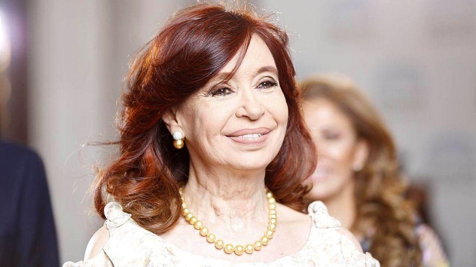 Cristina Kirchner, en la Asamblea Legislativa.