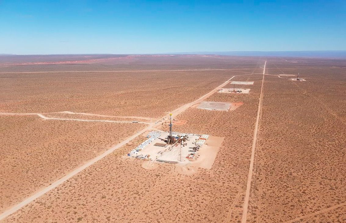 Vista Oil & Gas well in Vaca Muerta.