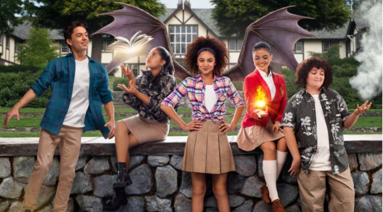 Izabela Rose se puso a la cabeza del elenco de Upside Down Magic, el nuevo estreno de Disney Channel.