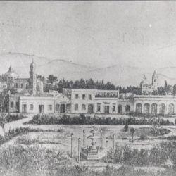Así lucía la ciudad de Mendoza en sus primeros años de vida.