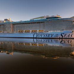 El Odyssey of the Seas será el primer crucero en transportar exclusivamente a pasajeros y tripulación vacunados contra el coronavirus.