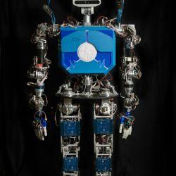 TEO mide 1,60 metros de altura y pesa unos 60 kilos.