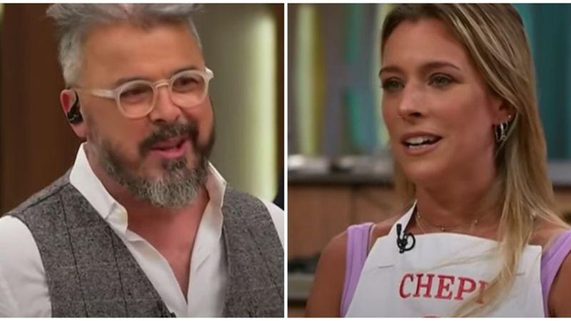 """Dani La Chepi encaró a Donato: """"Sé que estás casado y yo de novia pero los ojos están para mirar"""""""