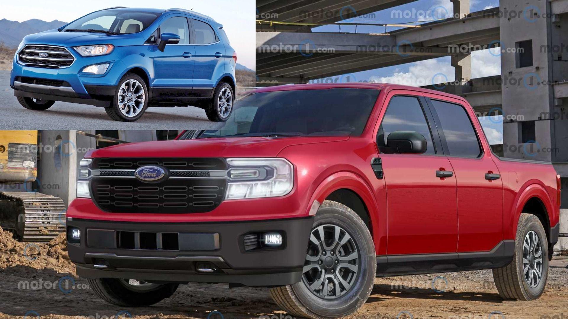 ¿La nueva Ford Maverick tendrá el mismo precio que Ecosport?