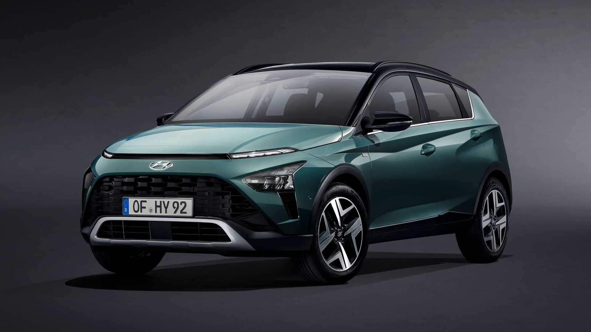 Hyundai presenta a Bayon, un nuevo SUV compacto
