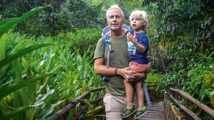 Las exclusivas vacaciones de Marley y Mirko en las Cataratas