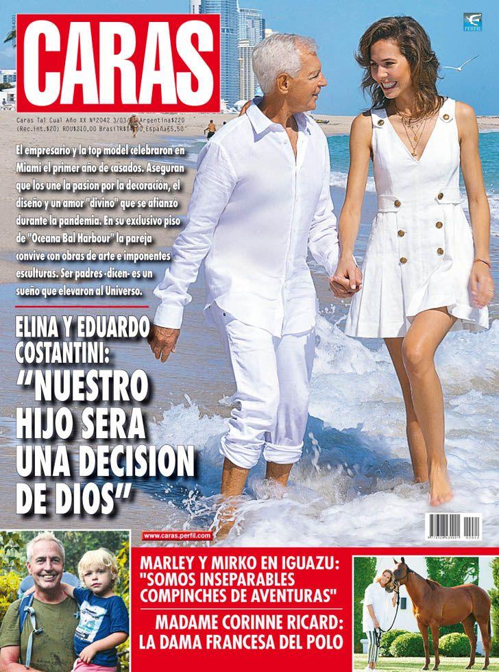 """Elina y Eduardo Costantini: """"Nuestro hijo será una decisión de Dios"""""""