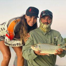 Pesca de pacúes en Ita Ibaté, Corrientes