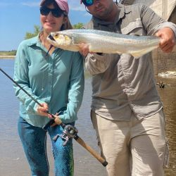 Un rincón en Esquina donde pescar cuando el Paraná está turbio