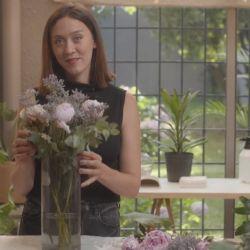 Florencia presenta su primer envío en televisión: Decora con plantas.