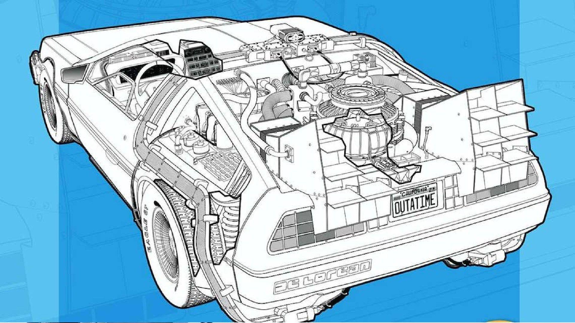 Se viene el manual de usuario del DeLorean de Volver al Futuro