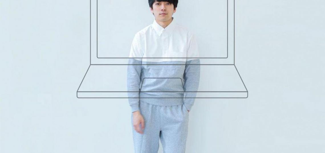 El híbrido de camisa pijama para trabajar por Zoom