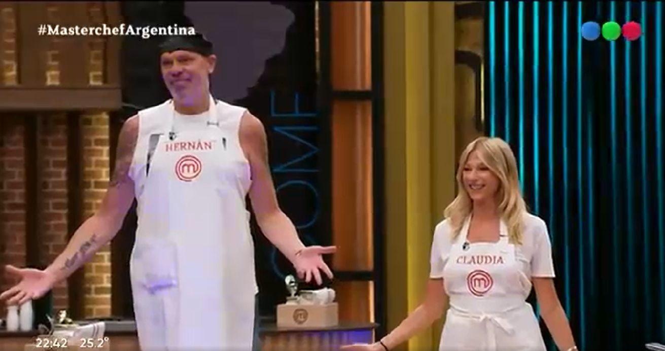 Claudia Fontán y El Loco Montenegro: ¿la nueva pareja de Masterchef?