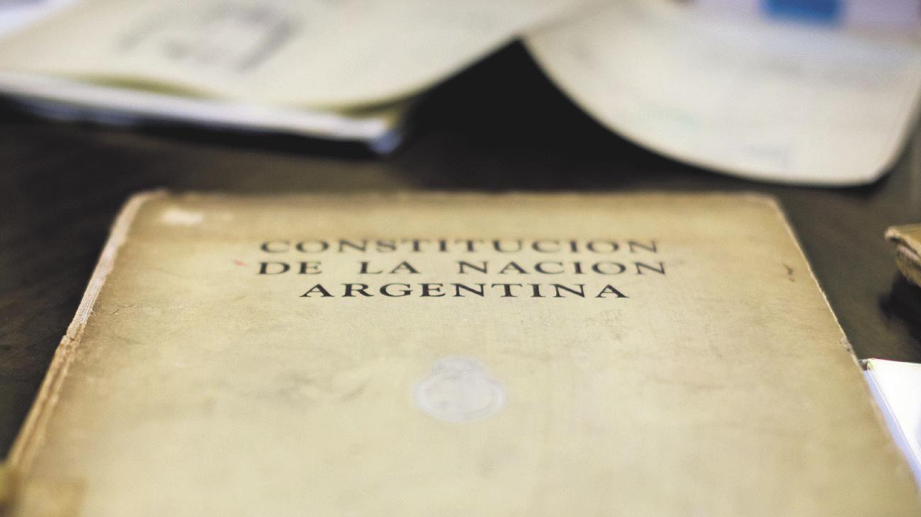 Réplica de la Constitución Nacional Argentina.