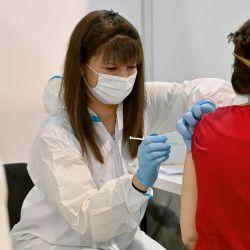 Vacuna contra el coronavirus. | Foto:AFP.
