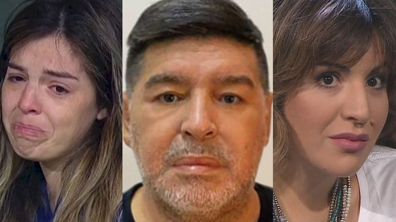 Dalma Nerea, Diego Armando y Gianinna Dinorah Maradona