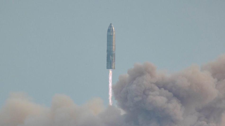 prototipo SN10 de cohete de SpaceX 20210304
