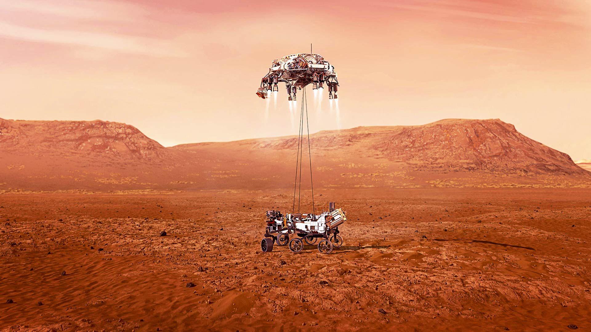 Intimidad del Perseverance, el rover que investiga cuán habitable es Marte