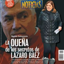 Tapa Nº2306: la dueña de los secretos de Lázaro Báez | Foto:Pablo Temes