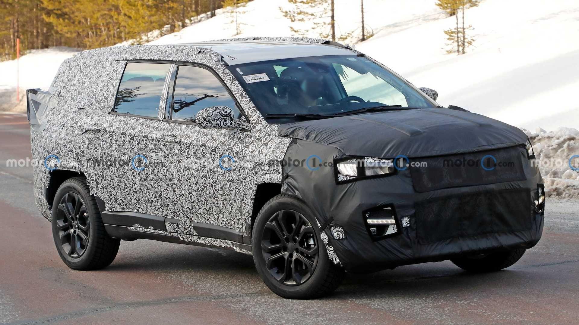 El nuevo Jeep de siete asientos tendrá elementos de Grand Cherokee