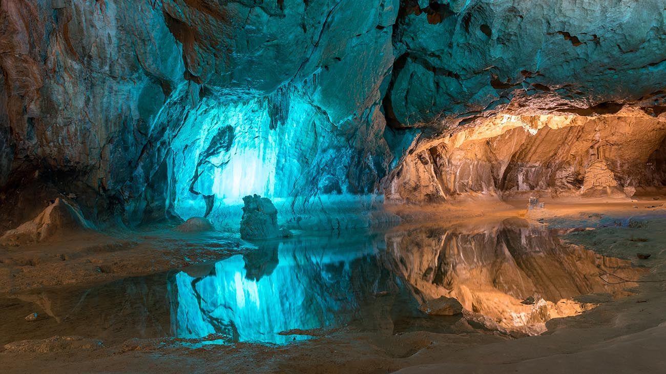Las cuevas de Lombrives en Francia
