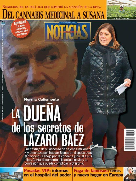 Norma Calismonte: la dueña de los secretos de Lázaro Báez