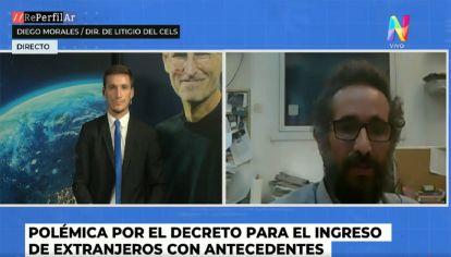 Diego Morales del CELS