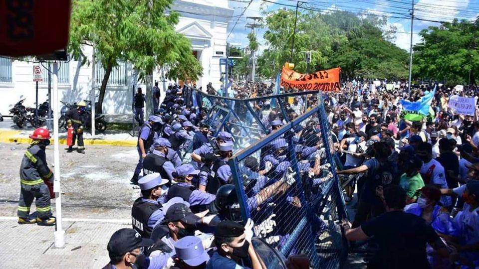 Represión en Formosa 20210305º