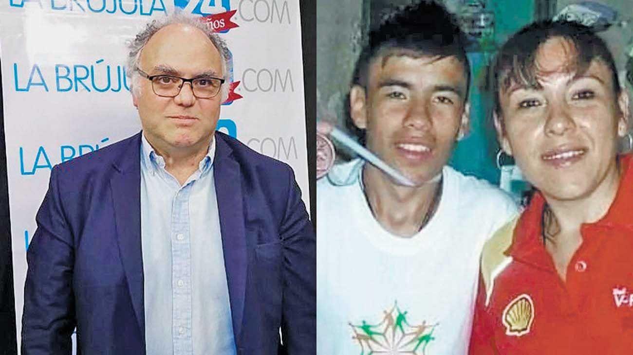 Santiago MartÍnez. Dirigió la parte inicial del caso Facundo. / Facundo. Su cuerpo fue hallado el 15 de agosto en un cangrejal.