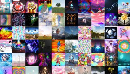 Digitales. Cien artistas digitales NFT.