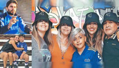 Fallo. Verónica Ojeda posteó que Dalma, Giannina, Diego Jr., Jana y Dieguito son herederos universales de Maradona.